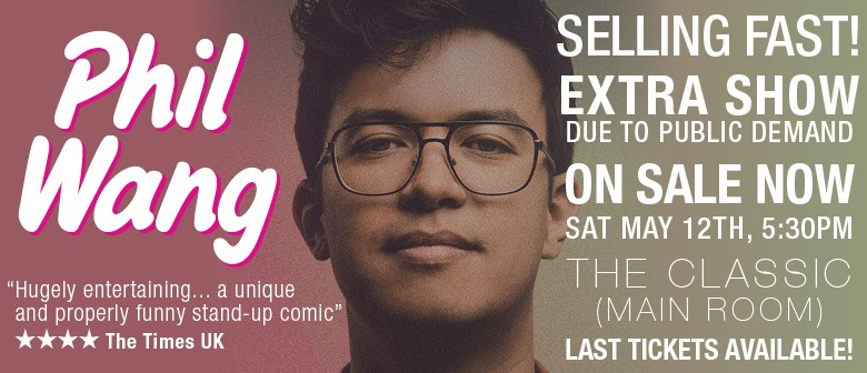 Phil Wang: Extra Show