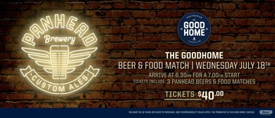 Panhead Brewery Beer & Food Match
