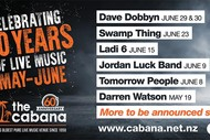 Swamp Thing Live at The Cabana