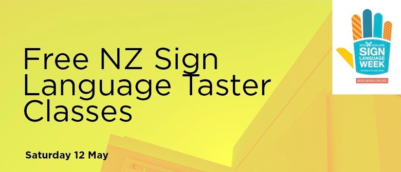 NZ Sign Language Taster Classes