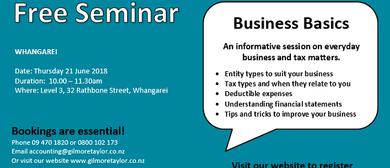 Seminar - Business Basics
