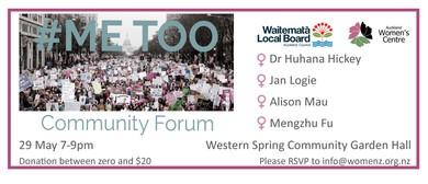 #Me Too Community Forum