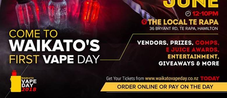Waikato Vape Day 2018