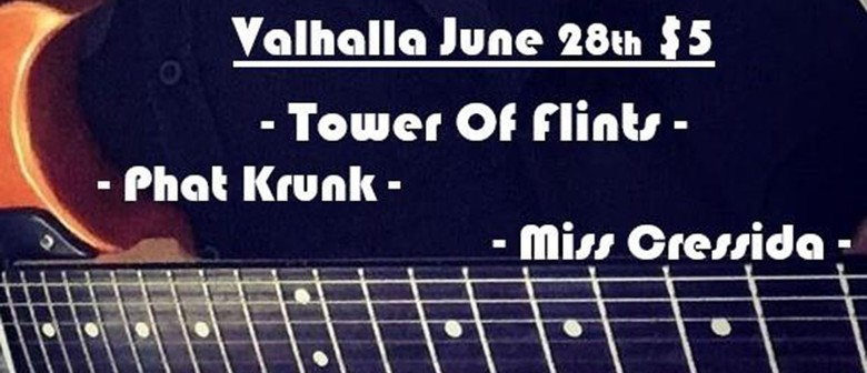 Tower Of Flints with Phat Krunk & Miss Cressida