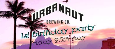 Urbanaut Birthday with Bozo, Powernap and DJ Tina Turntables