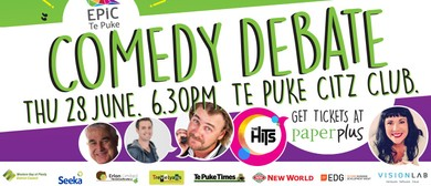 Epic Te Puke Comedy Debate
