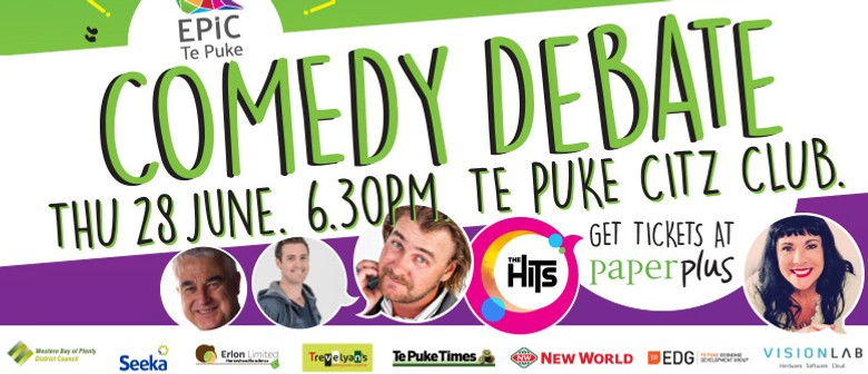Epic Te Puke Comedy Debate