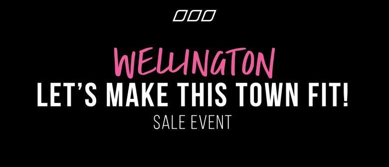 Lorna Jane Wellington Let's Make This Town Fit! Sale