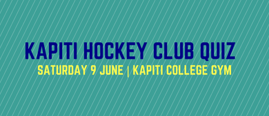 Kapiti Hockey Quiz