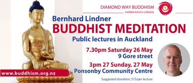 Buddhist Meditation Public Talk by Bernhard Lindner