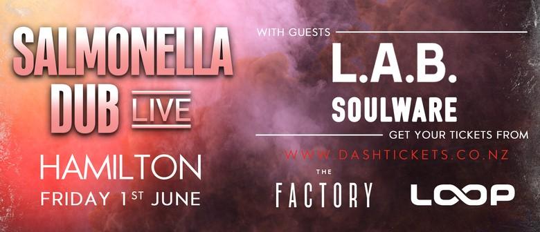 Salmonella Dub w/ L.A.B. & Soulware