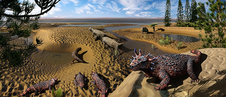 Permian Monsters: Paleoartistry With Julius Csotonyi