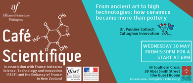 Café Scientifique - How Ceramics Became More Than Pottery?