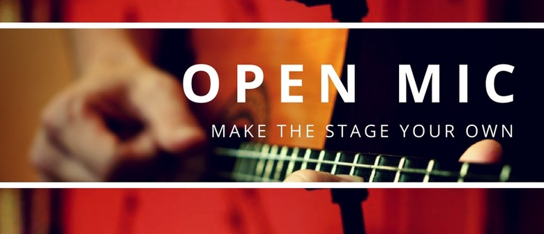 Open Mic: Make the Stage Your Own