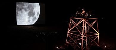 Lunar Reflection Transmission Technique