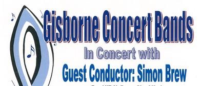 Gisborne Concert Bands in Concert - Guest MD Simon Brew