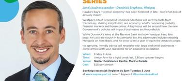 Business Breakfast Series - Dominic Stephens