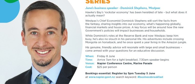 Business Breakfast Series - Dominic Stephens