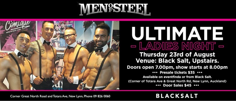 Men of Steel - The Ultimate Ladies Night Out