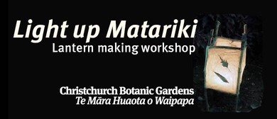 Light Up Matariki Lantern Making Workshop