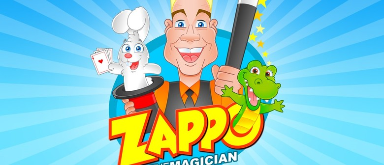 Freaky Friday: Zappo the Magician Performance