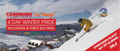 4 Day Cardrona Winter Pride Mountain Pass + Pride Bus