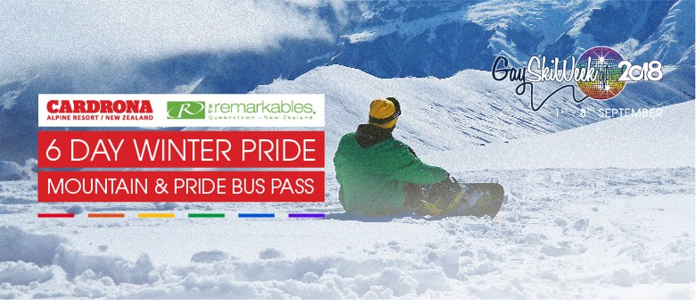 6 Day Cardrona and NZSki Mountain Pass + Pride Bus