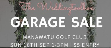 The Weddingtoolbox Garage Sale 2018: CANCELLED