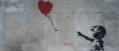 Wine and Paint Party - Banksy Balloon Girl Painting