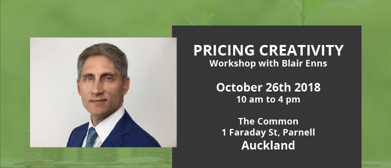 Pricing Creativity Workshop: CANCELLED