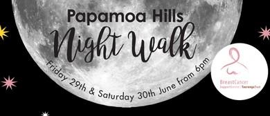 Papamoa Hills Nigth Walk