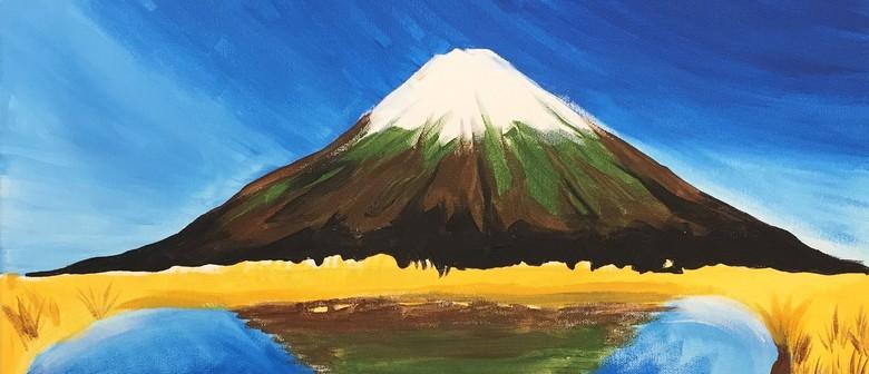 Paintvine - Mt Taranaki Reflection