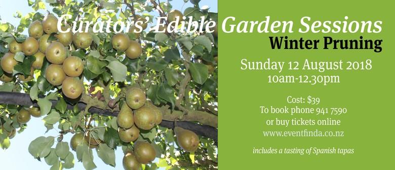 Curator's Edible Garden Workshop: Winter pruning