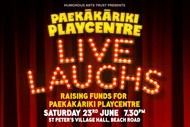 Live Laughs for Paekakariki Playcentre