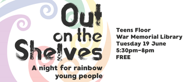 Out On the Shelves: A Night for Rainbow Young People