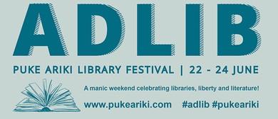AdLib - Puke Ariki Library Festival