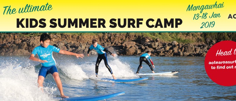 Kids Summer Surf Camp (5 Nights)