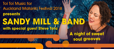 Sandy Mill & Band - Special guest Steve Tofa