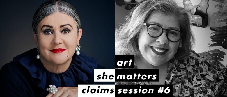 She Claims #6: Dame Denise L'Estrange-Corbet & Angela Lassig