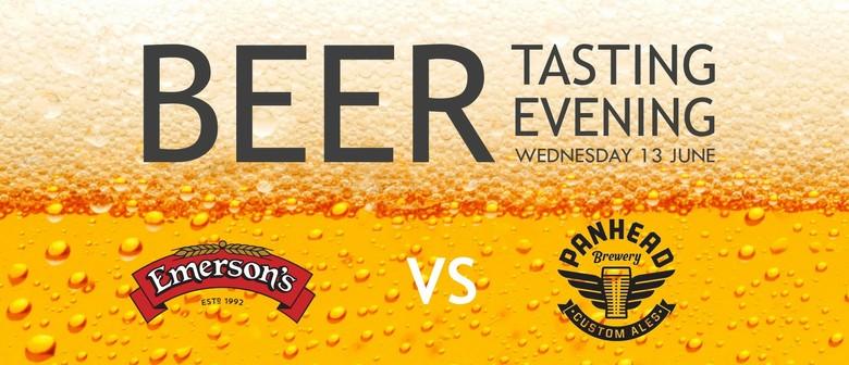 Beer Tasting - Emerson's vs Panhead