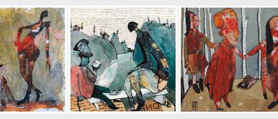 Ilya Volkyhine Solo Art Exhibition - Inhabited