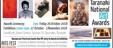 Taranaki National Art Awards Competition and Exhibition