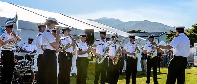 RNZN Band Kaikoura Coast School Tour
