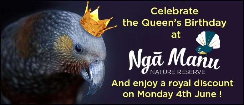 Nga Manu Queen's Birthday Discount