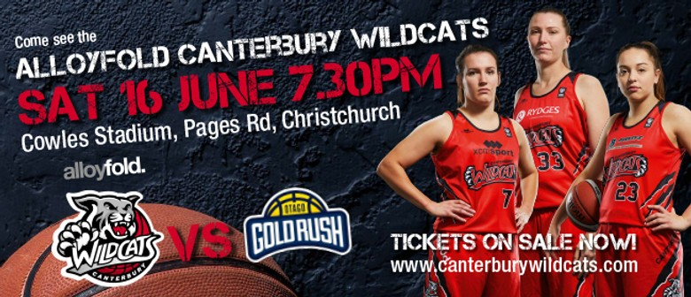 Alloyfold Canterbury Wildcats vs Otago Gold Rush