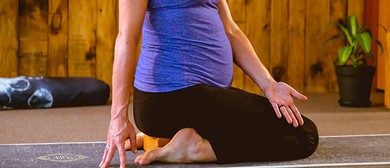 Pregnancy Yoga Course - Term 8
