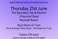 Kapiti Parents Centre Quiz Fundraiser