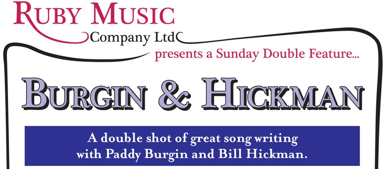 Burgin & Hickman - A Sunday Double Shot of Great Songwriting