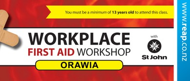Orawia St John Workplace First Aid Training