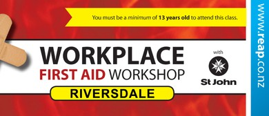 Riversdale St John Workplace First Aid Training